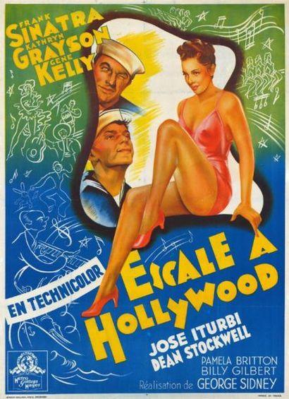 ESCALE A HOLLYWOOD George SIDNEY - 1945 Entoilage...