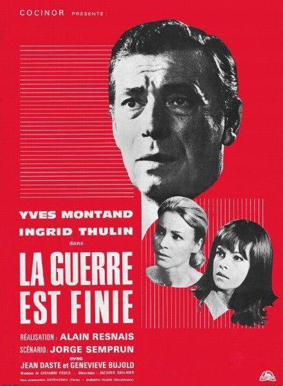 GUERRE EST FINIE (la) Alain RESNAIS - 1966...