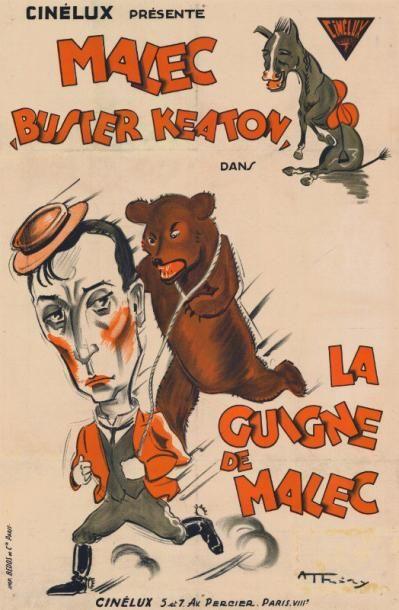 GUIGNE DE MALEC (la) Buster KEATON - 1921...