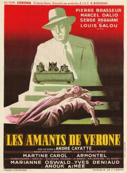 AMANTS DE VERONE (les) André CAYATTE - 1948...