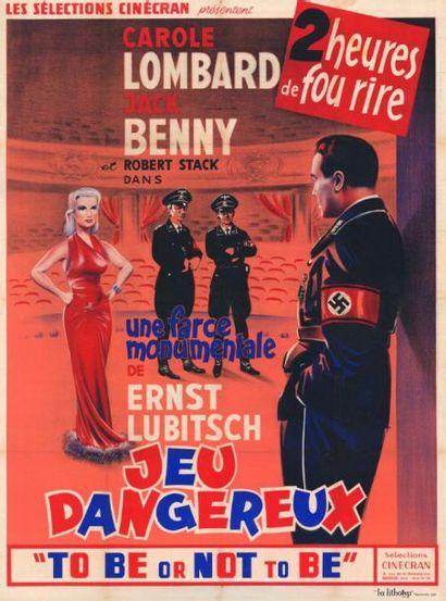 JEUX DANGEREUX Ernst LUBITSCH - 1942 Entoilage...