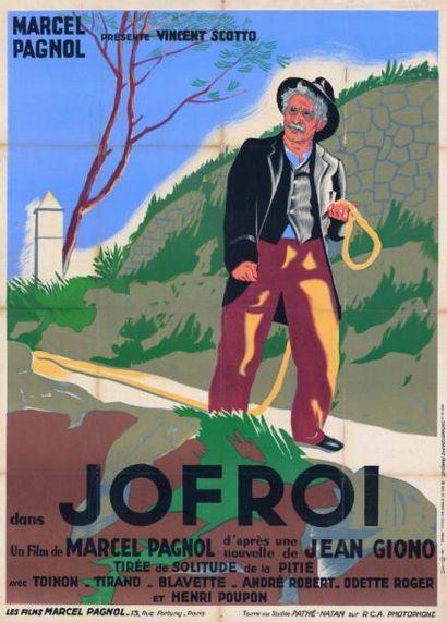 JOFROI Marcel PAGNOL - 1933 Entoilage ancien...