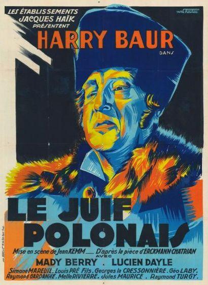 JUIF POLONAIS (le) Jean KEMM - 1930 Affiche...