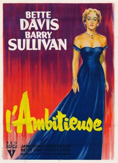 AMBITIEUSE (l') Curtis BERNHARDT - 1950 Entoilage...
