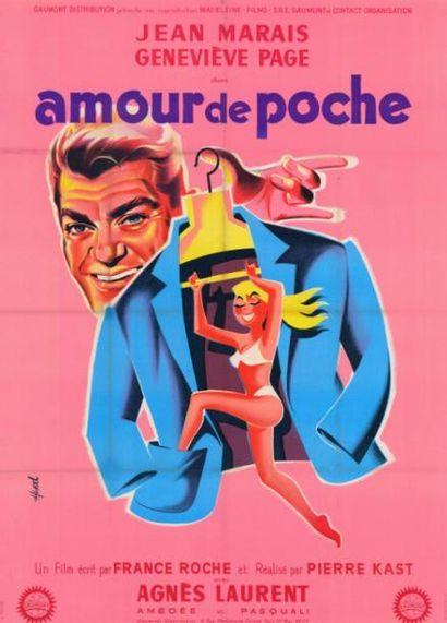 AMOUR DE POCHE Pierre KAST - 1957 Entoilage...