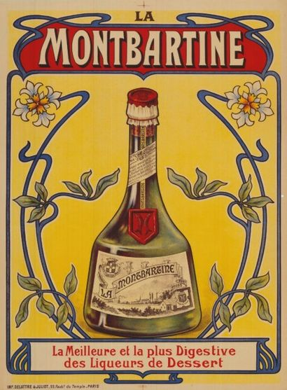 LA MONTBARTINE La meilleure liqueur Affiche...