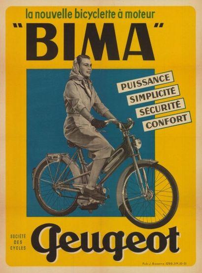 PEUGEOT BIMA La nouvelle Bicylette à moteur...