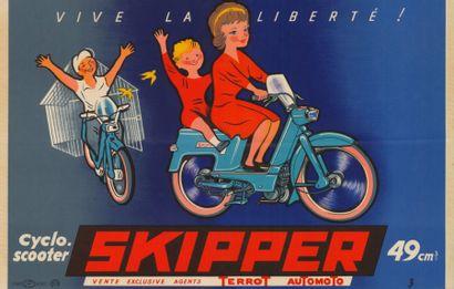 SKIPPER Cyclo-Scooter 49cm3 Affiche pliée...