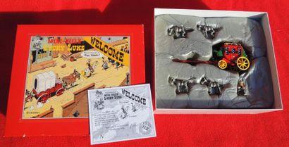 Quatre boîtes PIXI «Lucky Luke». N° 2461...