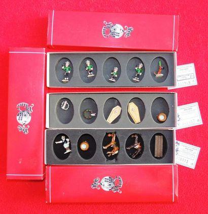 Quatre boîtes PIXI «Lucky Luke». N°5451 «Lucky...