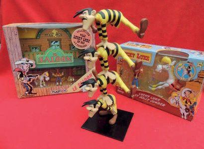 Figurine Lucky Luke. «La ville en bois»....