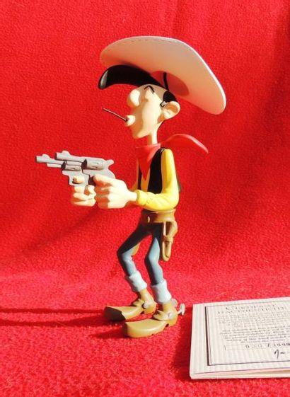 Figurine Lucky Luke par Leblon Delienne....