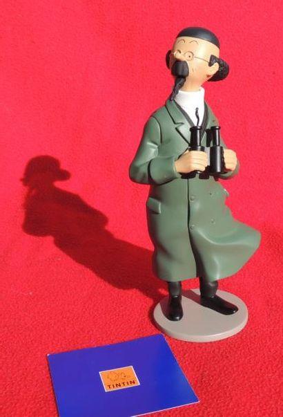 Figurine «Tournesol au béret». Editions Moulinsart...