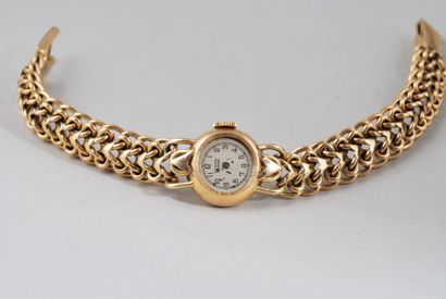 Grana, Suisse  Montre bracelet en or jaune...