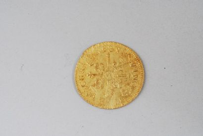 Pièce Louis XIV (1643-1715) Louis d'or aux...