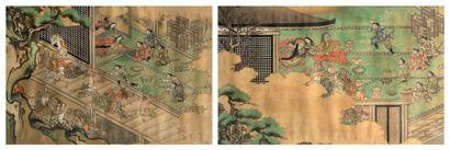 JAPON-Milieu Epoque EDO (1603-1868)