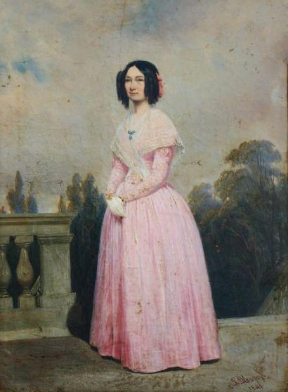 P. BLANCHARD (actif au XIXème siècle)