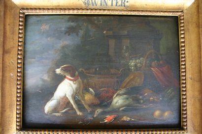 Suiveur d'Adrien de GRYEF  Ecole Flamande...
