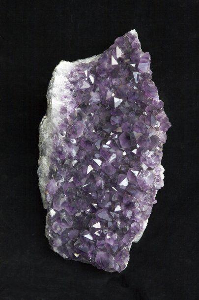 Plaque d'Amethyste - Uruguay. Très beau violet...