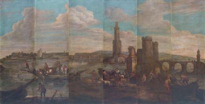 ECOLE DU NORD vers 1800