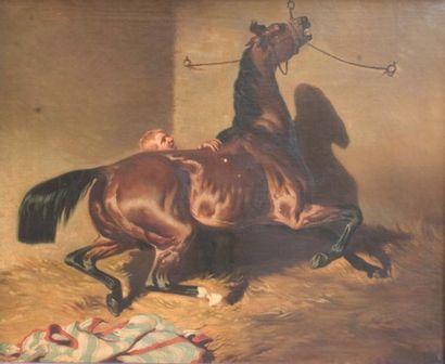 Suiveur d'Alfred de DREUX, XIXe siecle