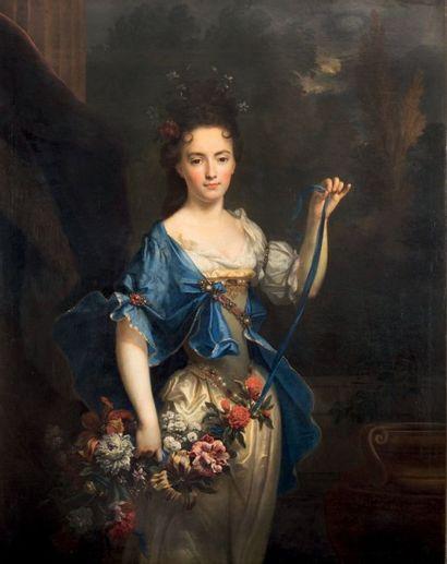 Nicolas de LARGILLIERRE (Paris 1656 - 1746) Portrait présumé de Madame de Harlay...