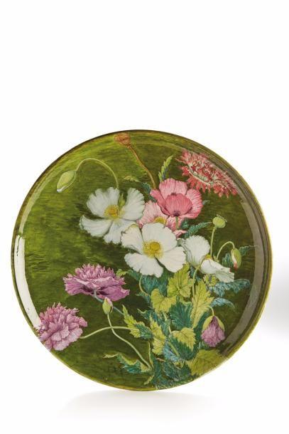 THEODORE DECK (1823-1891) & A.L. REGNIER, décor de