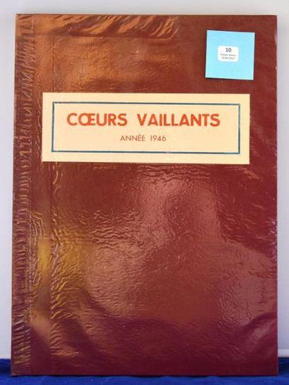 «Coeurs Vaillants». Année 1946. Reliure Archives...