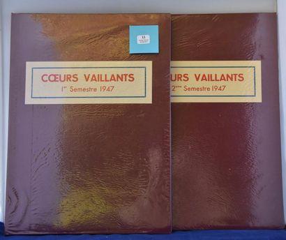 «Coeurs Vaillants» Année 1947. Année complète...