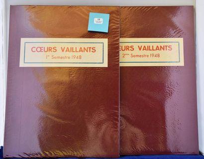 «Coeurs Vaillants» Année 1948. Année complète...