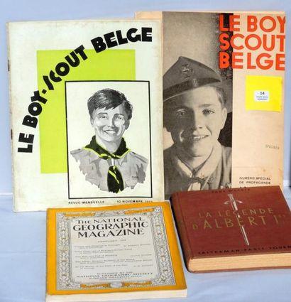 «Le Boy Scout belge». Numéro du 10 novembre...