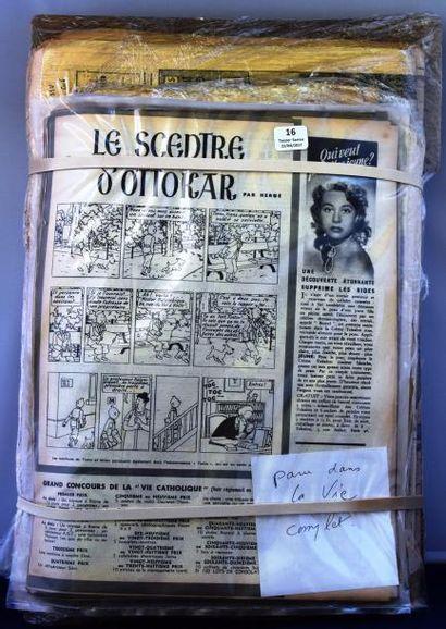 Lot de journaux des années 60. 7 n° de OUEST...