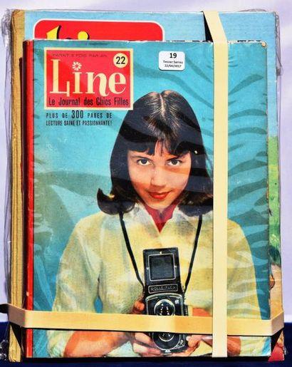 «LINE». 9 albums éditeur. Le journal des...