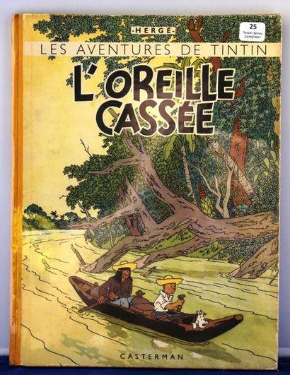 «L'Oreille Cassée». Casterman juin 1944,...