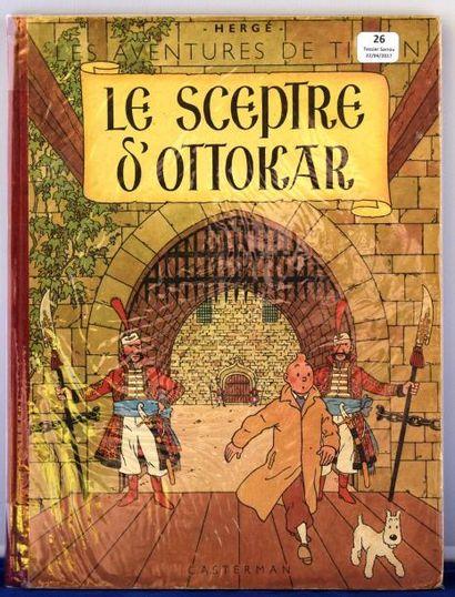 «Le Sceptre d'Ottokar». Casterman septembre...