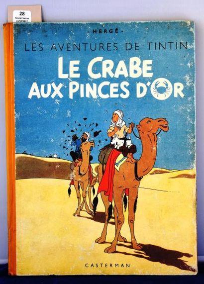 «Le Crabe aux Pinces d'Or». Casterman septembre...