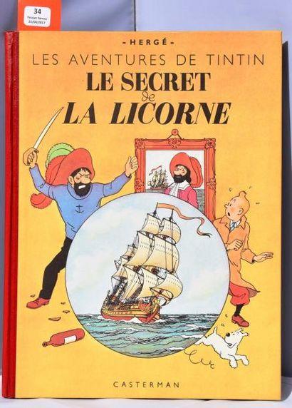 «Le Secret de la Licorne». Casterman 1949...