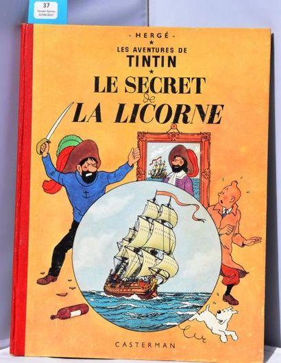 «Le Secret de la Licorne». Casterman 1955,...