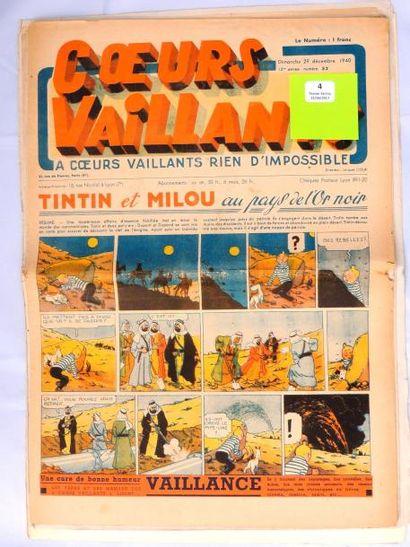 «Coeurs Vaillants». 1940. Lot des n°45, 46,...