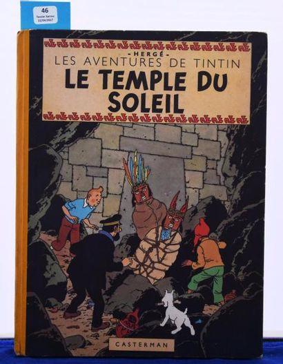 «Le Temple du Soleil». Edition originale....