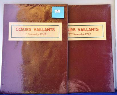 «Coeurs Vaillants». 1942. Année complète...