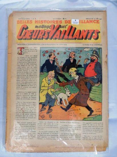 «Coeurs Vaillants» 1946. Année complète,...