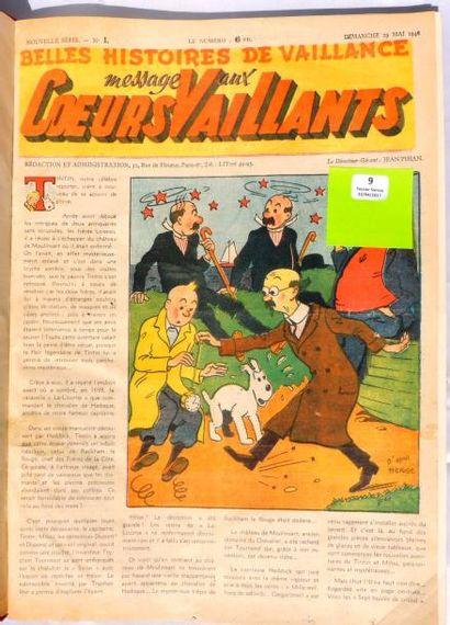«Coeurs Vaillants» 1946. Année complète en...