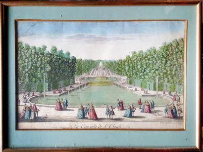 LA CASCADE DE SAINT-CLOUD A Paris chez Daumont,...
