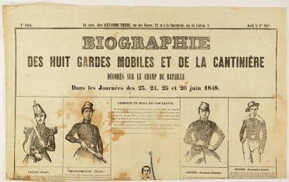 LES EVENEMENTS DE 1848 10 Documents autour...