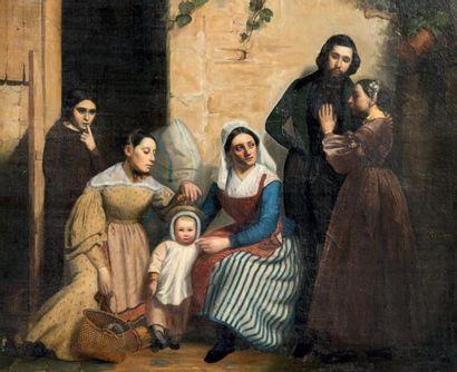 Anne Marie Elisa RADOU (actif au XIXe siècle)