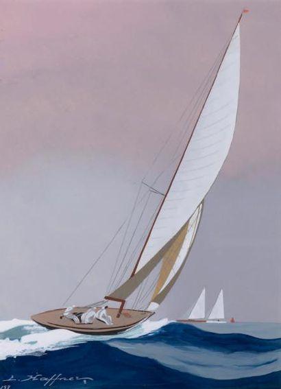Léon HAFFNER (1881-1972), nommé POM en 1918