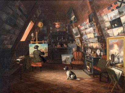 Ecole du NORD, milieu du XIXème