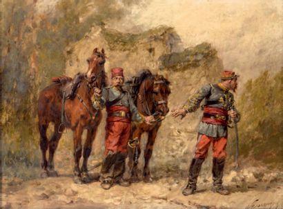 Wilfrid Constant BEAUQUESNE (1847-1913)