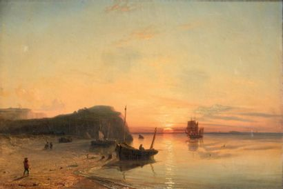 Théodore GUDIN (1802-1880) Attribué à